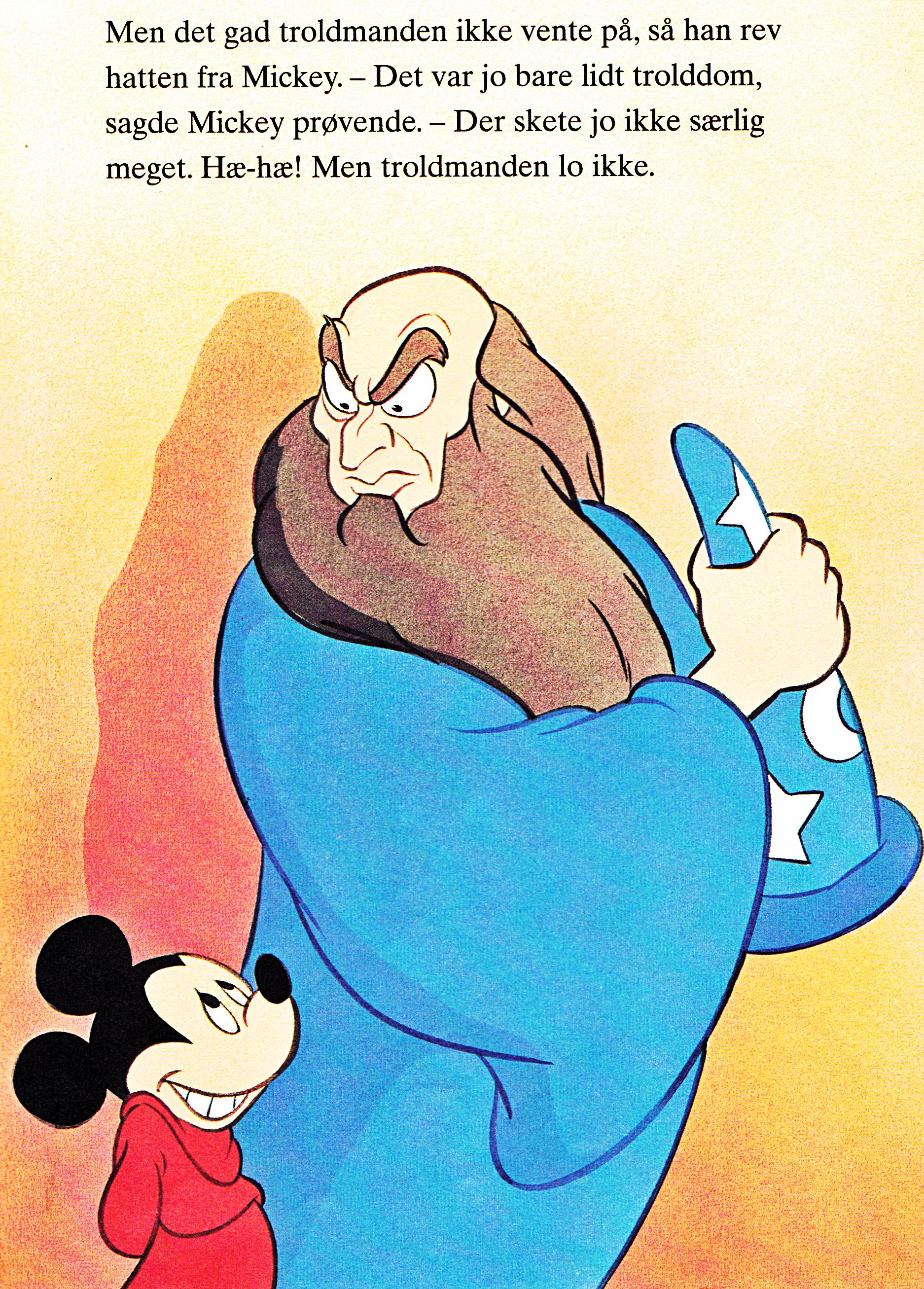 Walt Disney Book Images - Mickey Mouse & Yen Sid