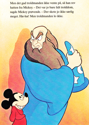 Walt Disney Book Images - Mickey Mouse & Yen Sid