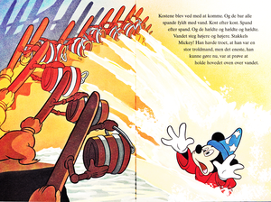 Walt disney Book gambar - Mickey mouse