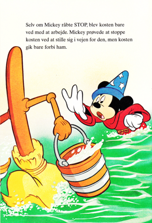 Walt Disney Book larawan - Mickey mouse