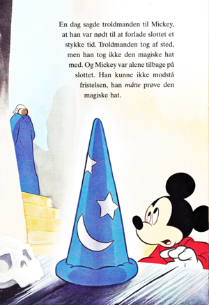 Walt Disney Book larawan - Yen Sid & Mickey mouse
