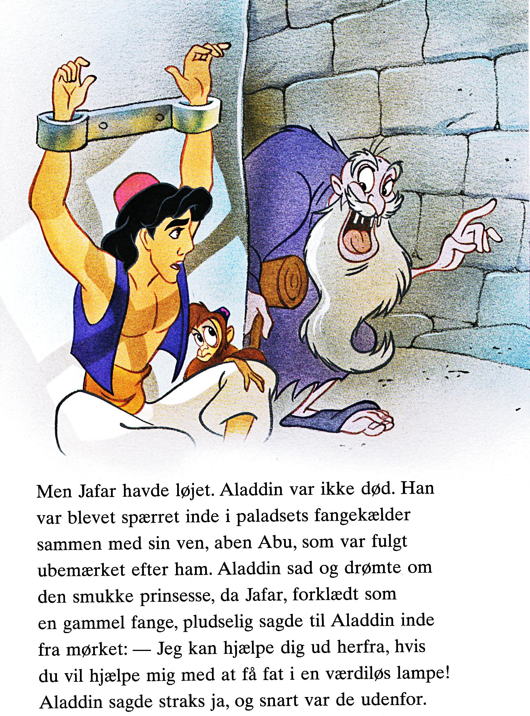 Walt disney Book imágenes - Prince Aladdin, Abu & Jafar