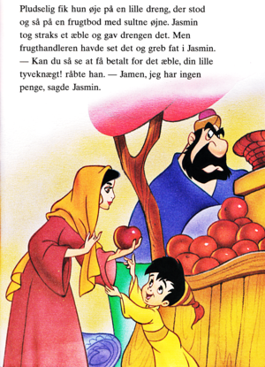 Walt Disney Book تصاویر - Princess جیسمین, یاسمین & Farouk