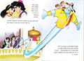Walt Disney Book Bilder - Princess Jasmine, Prince Aladdin, Abu, The Sultan & Genie