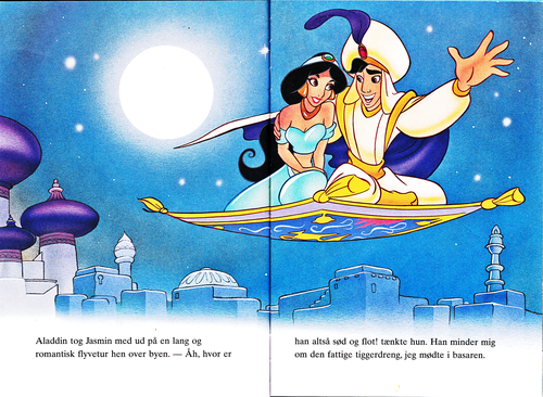 Disney Aladdin Book