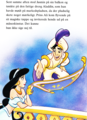 Walt Disney Book Images - Princess Jasmine, Prince Aladdin & Carpet