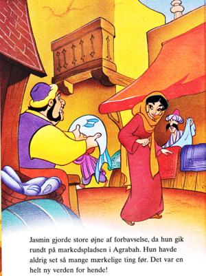 Walt Дисней Book Обои - Princess жасмин