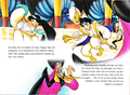 Walt Disney Book larawan - The Sultan, Princess Jasmine, Prince Aladdin & Jafar