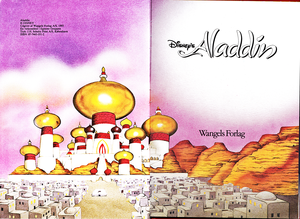 Walt Disney Book تصاویر - The Sultan's Palace