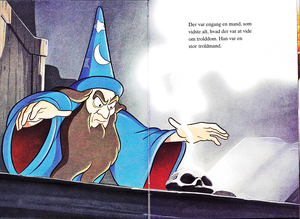 Walt Disney Book Images - Yen Sid