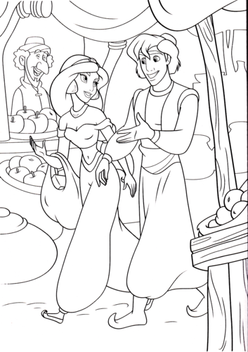 Walt Disney Characters Achtergrond Entitled Coloring Pages