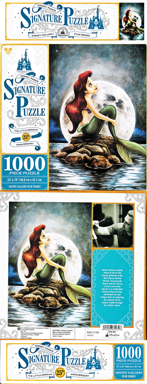 Walt Disney Puzzles - The Little Mermaid: 25th Anniversary