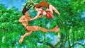 Walt disney Screencaps - Tarzan & Jane Porter