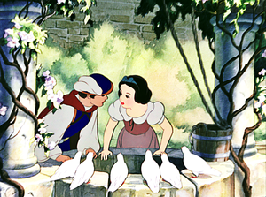 Walt disney Screencaps - The Prince & Princess Snow White