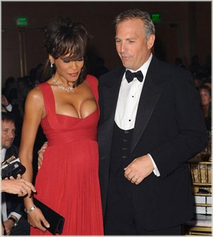 Whitney & Kevin Costner