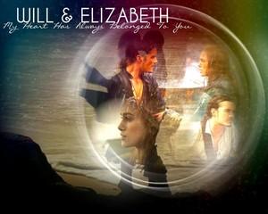 Will/Elizabeth wallpaper
