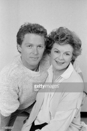 William Katt and his mom Barbara Hale