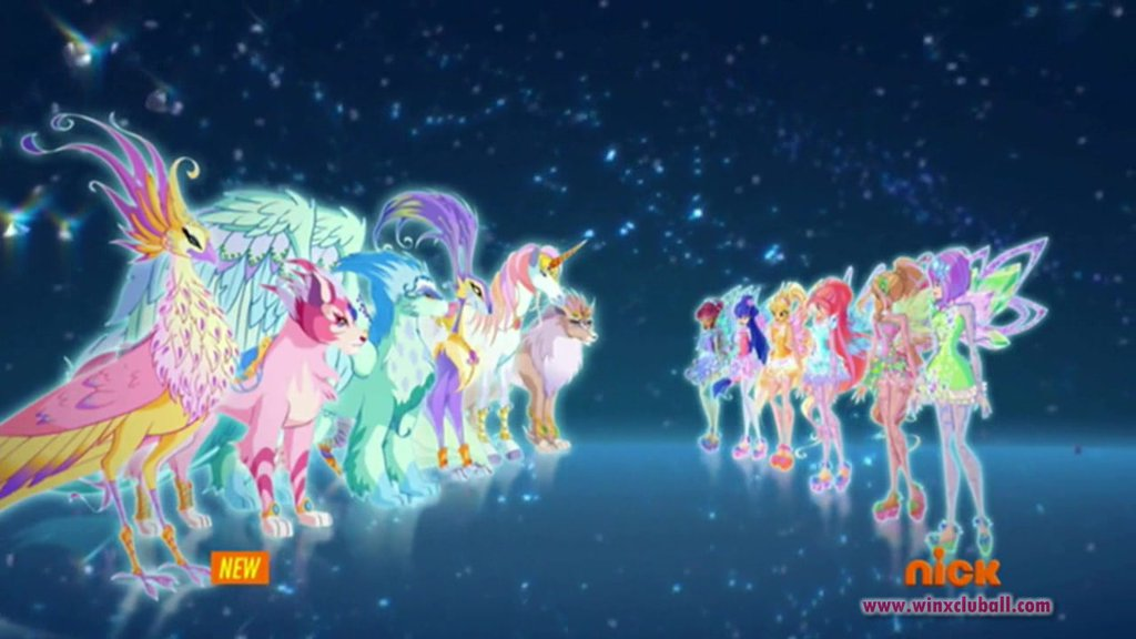 Winx Tynix and evolved Magical Pets