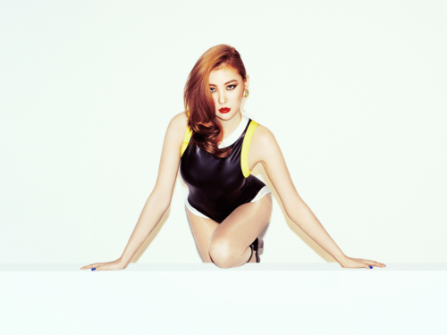 """Sunmi fond d'écran probably with a maillot and a leotard entitled Wonder Girls """"Reboot"""" Sunmi"""