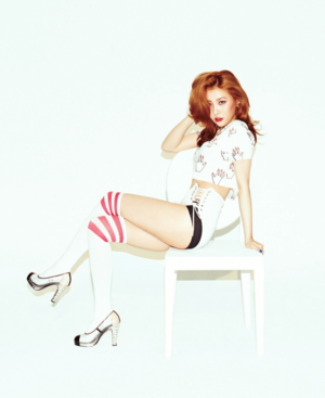 "Wonder Girls ""Reboot"" Sunmi"