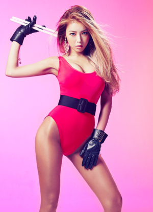 "Wonder Girls ""Reboot"" Yubin"