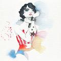 Wonder Woman watercolour - wonder-woman photo