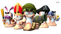 Worms Revolution - video-games wallpaper