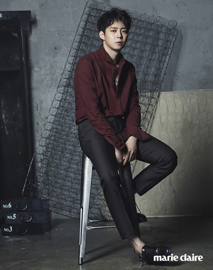 Yoochun for Marie Claire September 2015 Issue