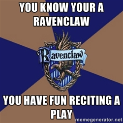 Ты Know You're a Ravenclaw