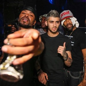 Zayn at Drai's nightclub in Las Vegas