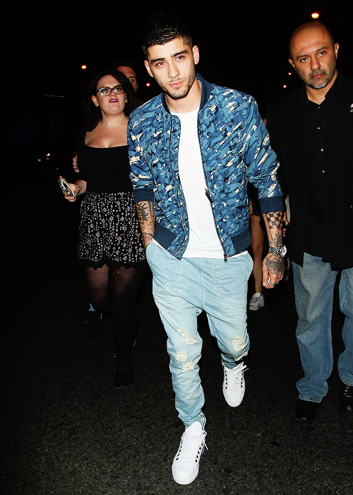 Zayn at Kylie Jenner's 18th Birthday Party