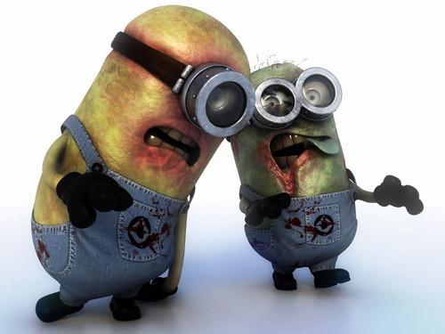 Horror Movies wallpaper titled Zombie Minions