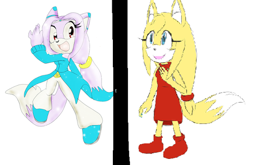 Sonic Fan Characters wallpaper with anime titled Zooey The Fox is a rip off of Daniela.