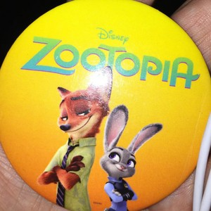 Zootopia button