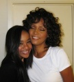 bobbi kristina brown and  whitney houston - celebrities-who-died-young photo