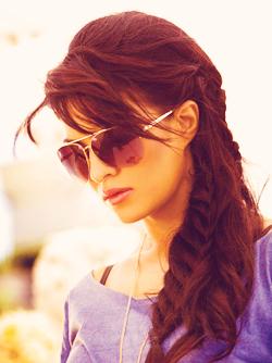बॉलिवुड braided chic hair Favim.com 2393076