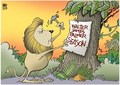 justice for Cecil - lions photo