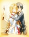 lovey dovey SWORD ART ONLINE - sword-art-online photo