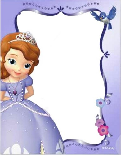 Sofia The First kertas dinding entitled sofia invite