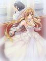 sword wedding - asuna-yuuki photo