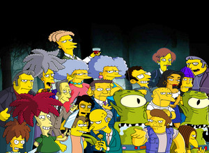 the simpsons villains