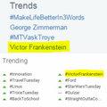 victor Frankenstein was Trending on Twitter & Google Plus (Fb.com/DanielJacobRadcliffeFanClub) - daniel-radcliffe photo
