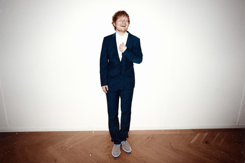 Ed Sheeran wallpaper containing a business suit, a suit, and a well dressed person entitled                 Ed Sheeran