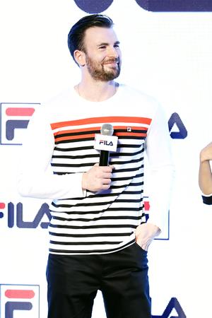 FILA sportswear event in Shanghai