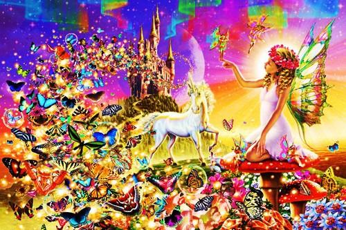 妖精 壁紙 titled Fairy