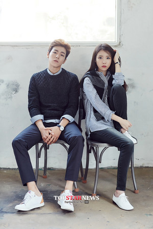 [HQ] 아이유 and Lee Hyun Woo for Unionbay 1000x1500