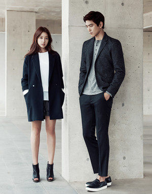 [HQ] Park Shin Hye and Sung Joon for Mind Bridge Fall 2015