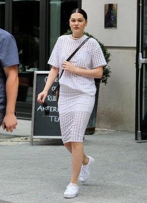 Jessie J Steps out NY City