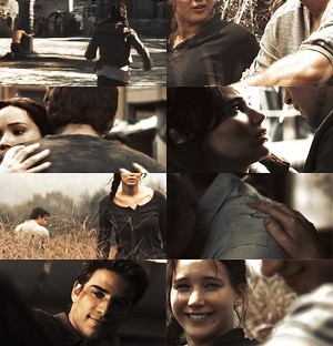★ Katniss and Gale ★