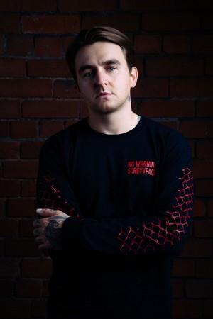 Matt Nicholls Upset Magazine Portrait